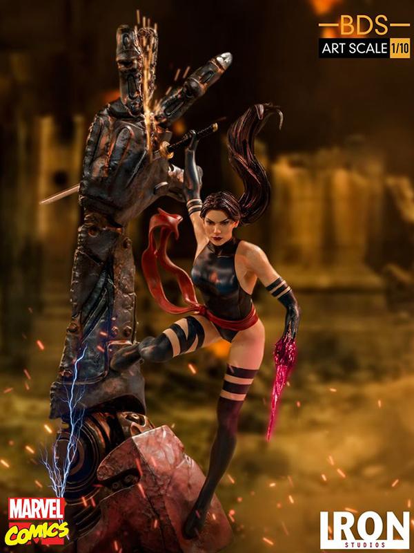 Iron Studios Marvel X-Men Psylocke 1:10 Statue