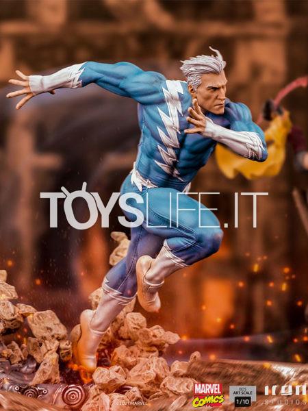 Iron Studios Marvel Comics Quicksilver 1:10 Statue