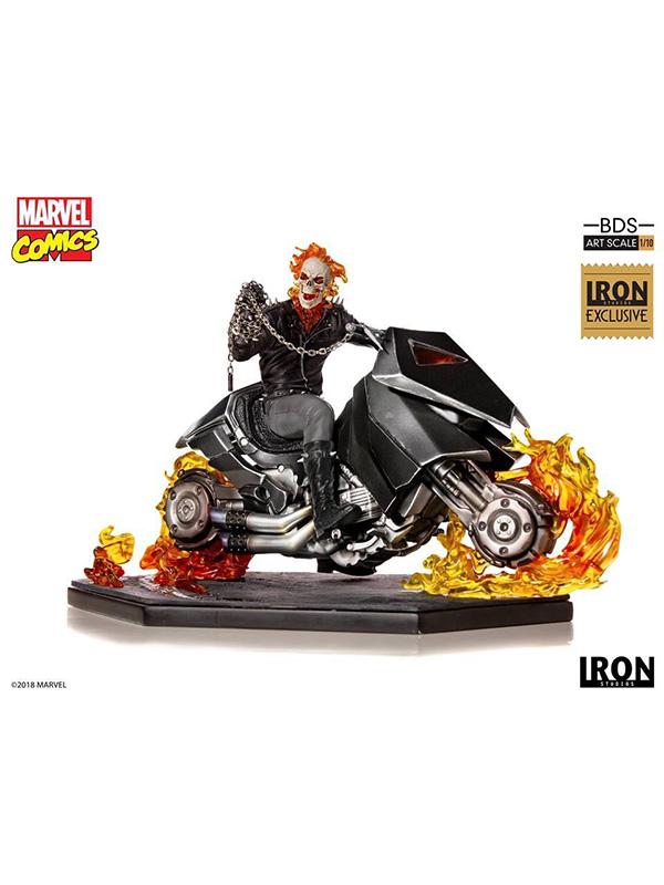Iron Studios Marvel Comics Ghostrider Fair Exclusive 1:10 Statue