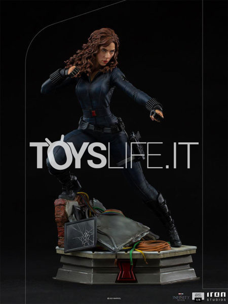 Iron Studios Avengers Infinity Saga Black Widow Legacy Replica 1:4 Statue
