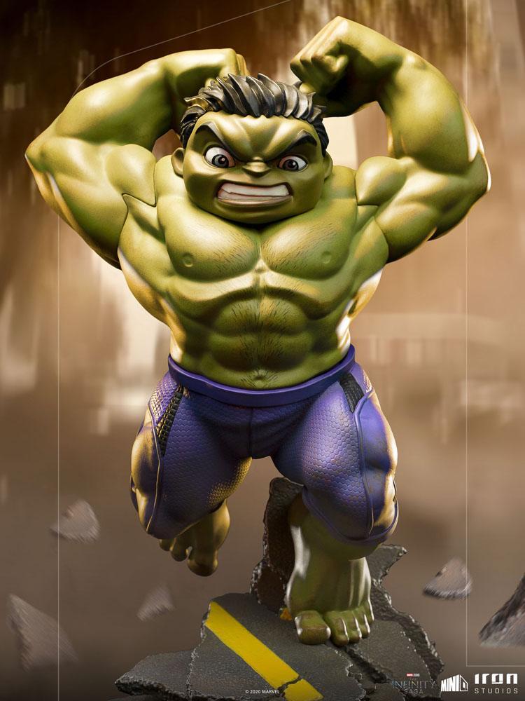 Iron Studios Marvel The Infinity Saga Hulk Mini Co Pvc Figure