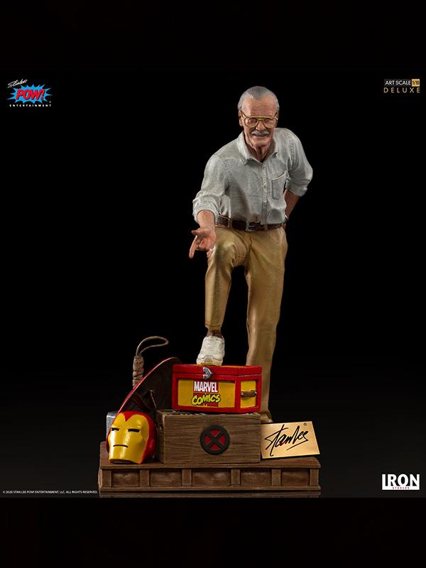 Iron Studios Marvel Deluxe Art Scale Statue 1/10 Stan Lee