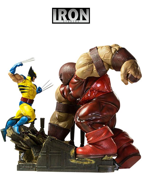 Iron Studios Marvel Wolverine Vs Juggernaut Diorama