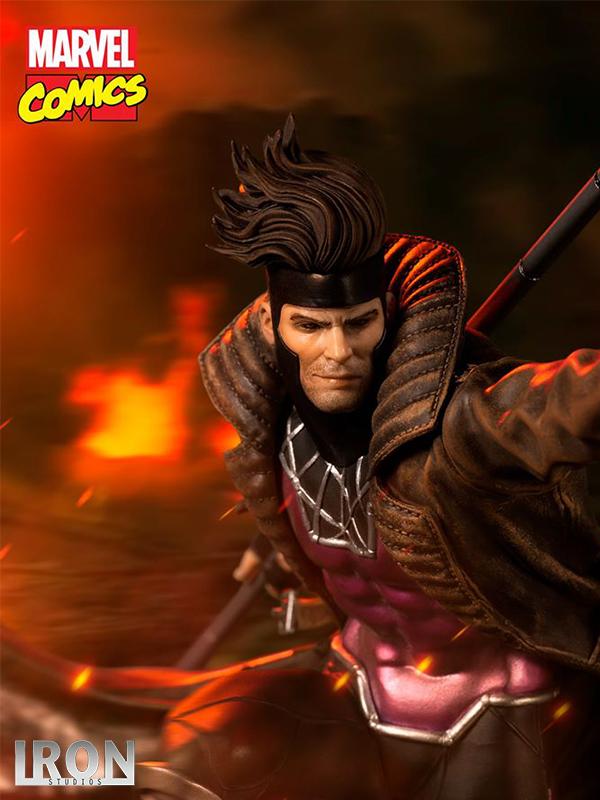 Iron Studios Marvel X-Men Gambit 1:10 Statue
