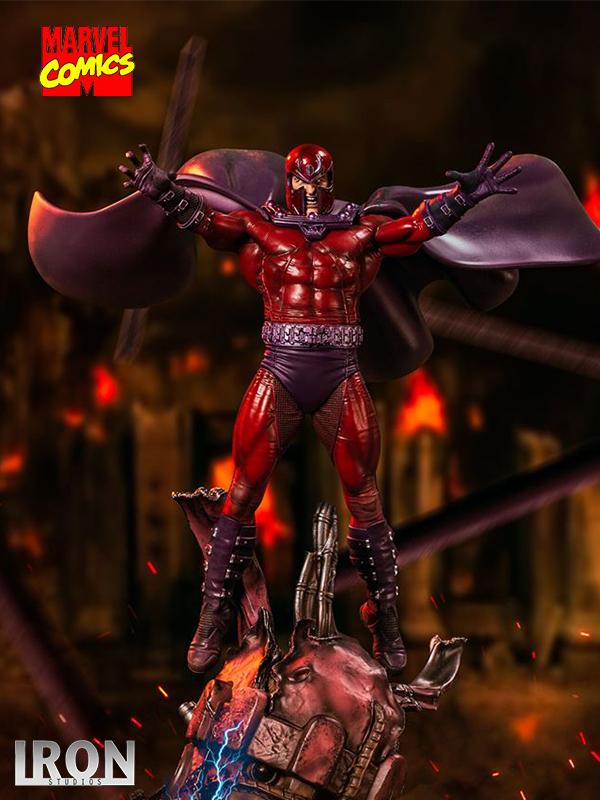 Iron Studios Marvel X-Men Magneto 1:10 Deluxe Statue