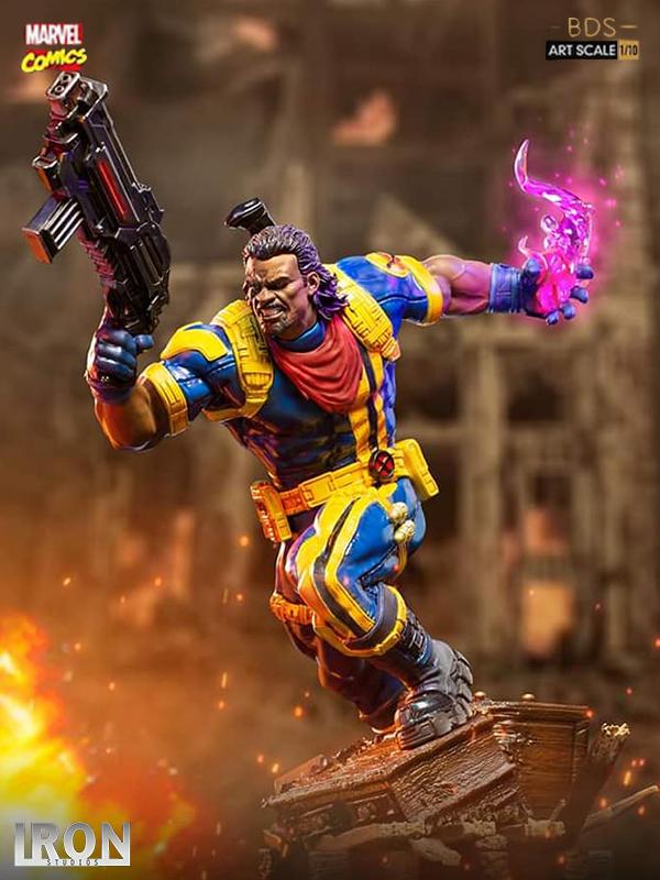 Iron Studios Marvel Comics X-Men Bishop 1:10 Statue