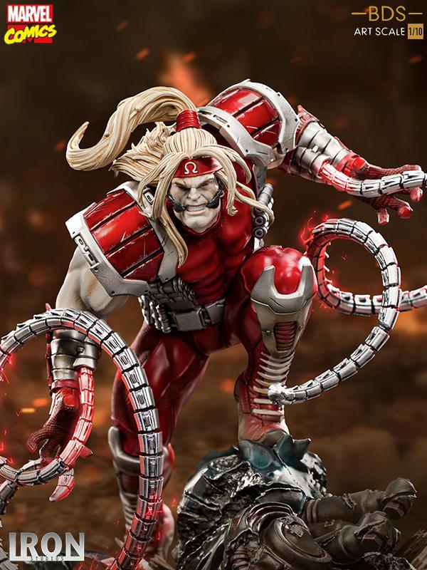 Iron Studios Marvel Comics X-Men Vs Sentinel Omega Red 1:10 Statue