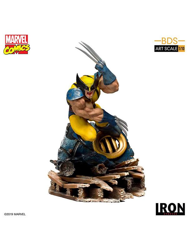 Iron Studios Marvel X-Men Wolverine 1:10 Statue