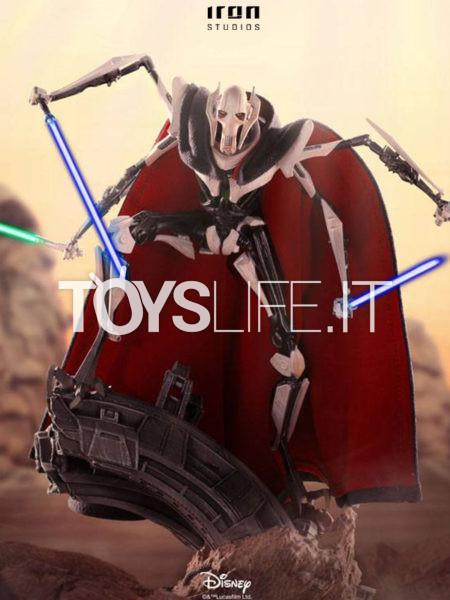 Iron Studios Star Wars General Grievous 1:10 Deluxe Statue