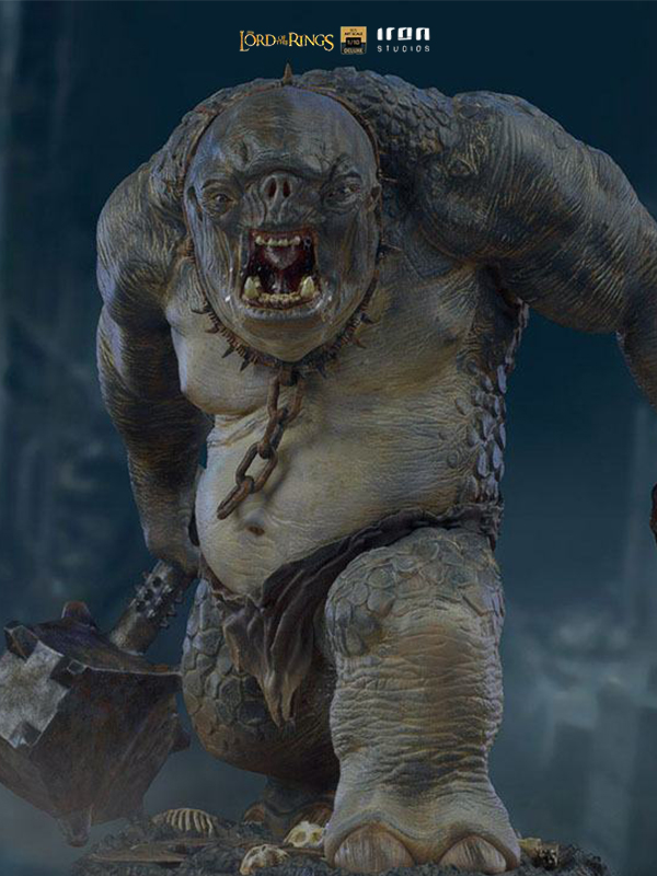 Iron Studios The Lord Of The Rings Cave Troll 1:10 Statue