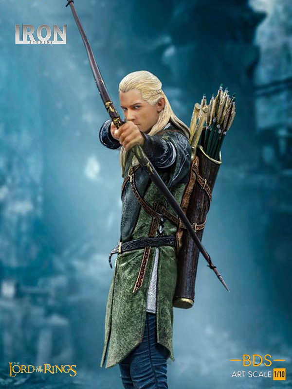 Iron Studios The Lord Of The Rings Legolas 1:10 Statue