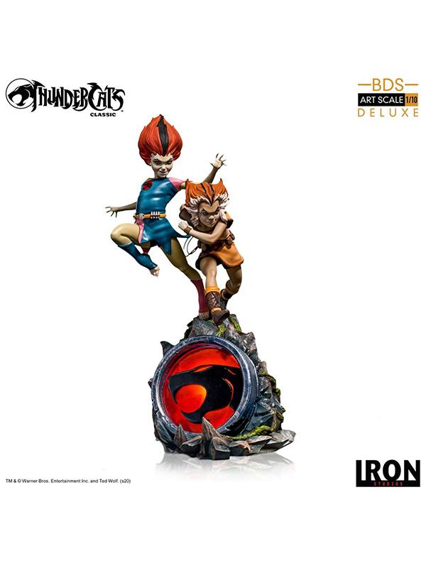 Iron Studios Thundercats WilyKit and WilyKat 1:10 Deluxe Statue