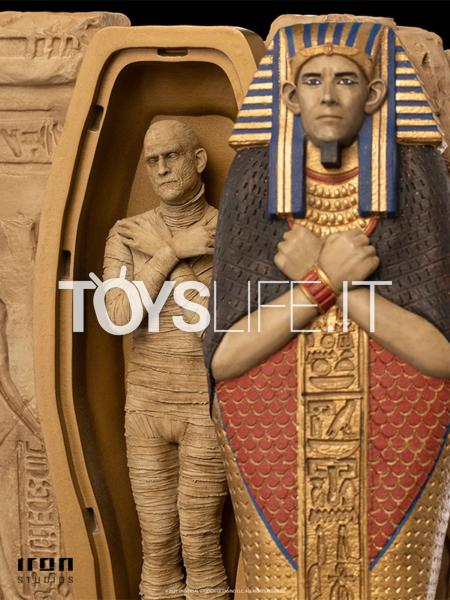 Iron Studios Universal Monsters The Mummy 1:10 Deluxe Statue