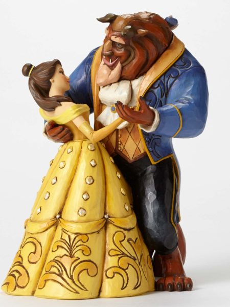 Jim Shore Disney Traditions The Beauty And The Beast 25th Anniversary