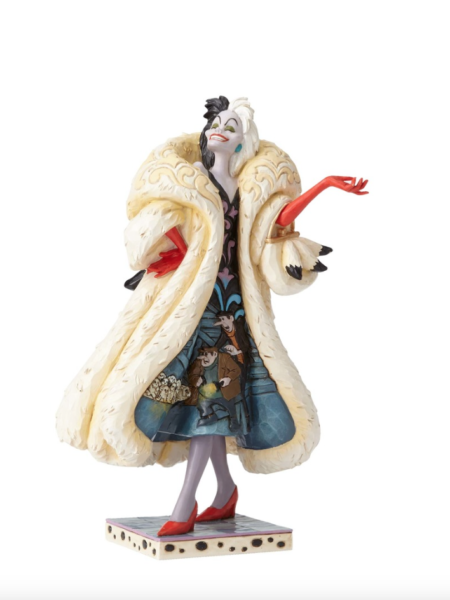 Jim Shore Disney Traditions 101 Dalmatians Cruella Devilish Dognapper