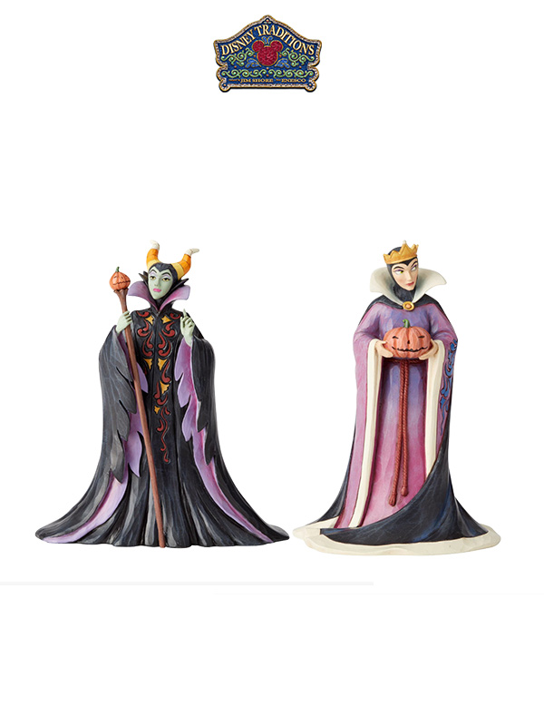 Jim Shore Disney Traditions 2019 Halloween Maleficent/Evil Queen