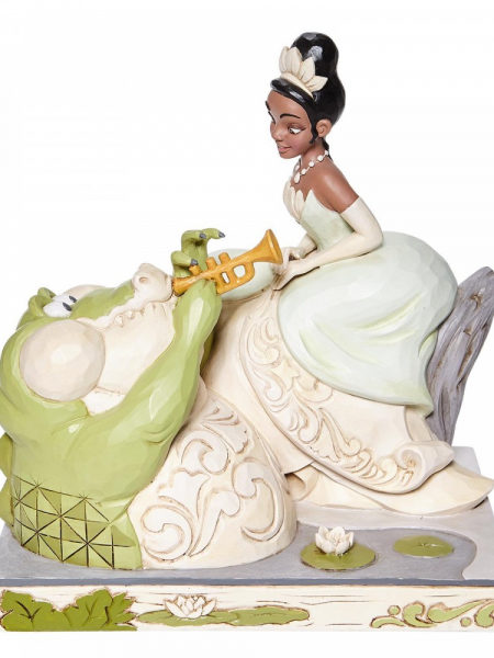 Jim Shore Disney Traditions The Princess And The Frog Tiana White Woodland