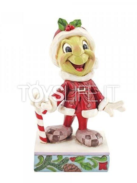 Jim Shore Disney Traditions Christmas Jiminy Cricket