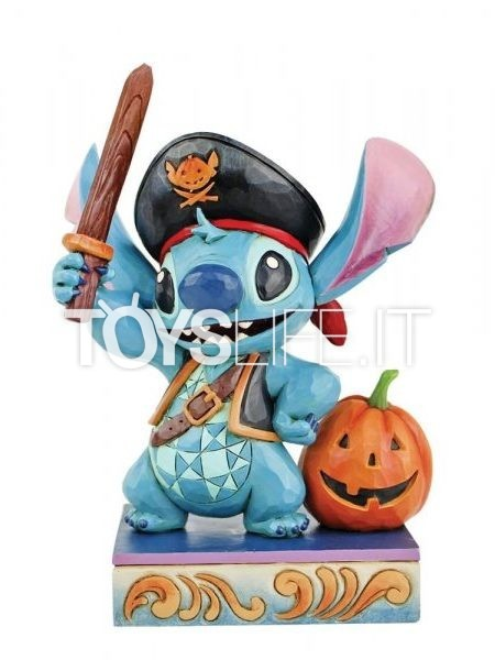 Jim Shore Disney Traditions Lovable Buccaneer Pirate Stitch Halloween