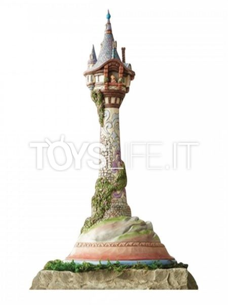 Jim Shore Disney Traditions Tangled Dreaming of Floating Lights Rapunzel Tower Masterpiece