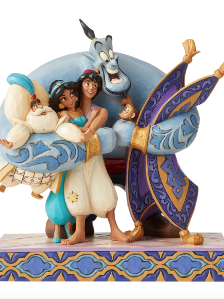 Jim Shore Disney Traditions Aladdin Family Hug