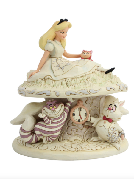 Jim Shore Disney Traditions Alice in Wonderland Alice Whimsy and Wonder