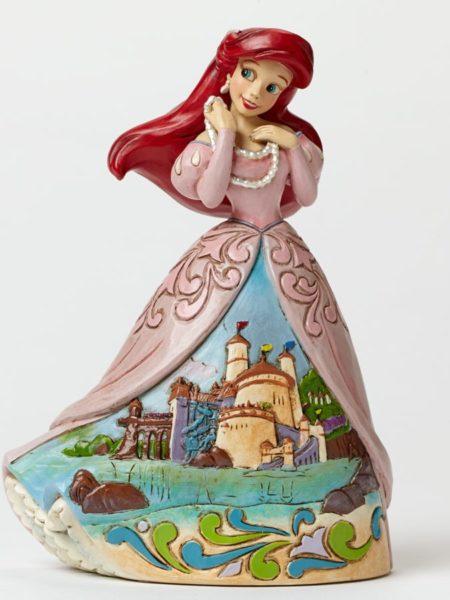 Jim Shore Disney Traditions Ariel Castle Dress