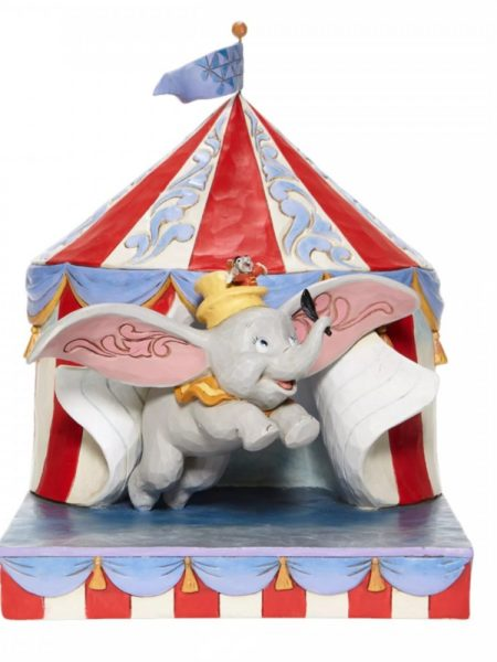 Jim Shore Disney Traditions Dumbo Circus Out Of Tent
