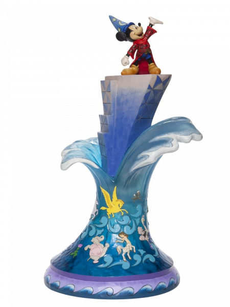Jim Shore Disney Traditions Fantasia Sorcerer Mickey Masterpiece