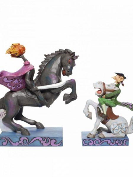 Jim Shore Disney Traditions Ichabod Crane And Headless Horseman