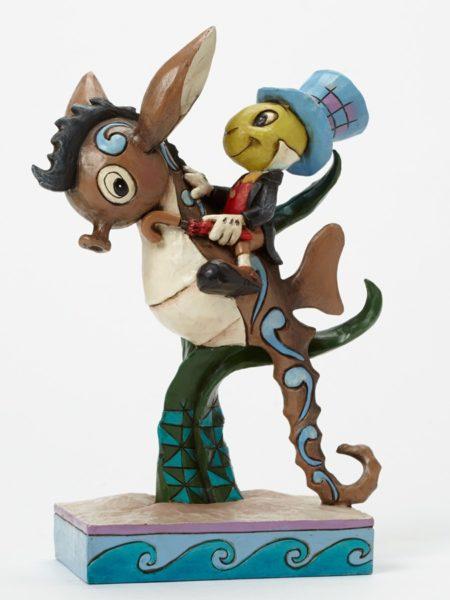 Jim Shore Jiminy Horsing Around (Grillo Parlante sul Cavalluccio marino)