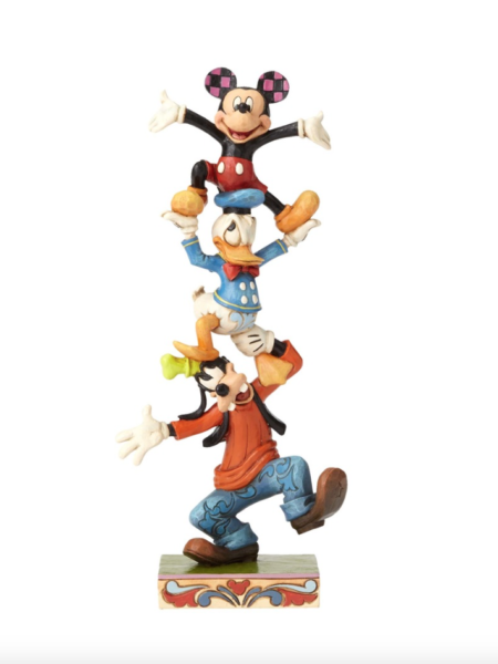 Jim Shore Disney Traditions Mickey Goofy & Donald