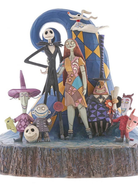 Jim Shore Disney Traditions Nightmare Before Christmas Carved By Heart