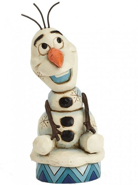 Jim Shore Disney Traditions Frozen Olaf Silly Snowman