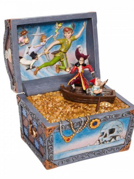 Jim Shore Disney Traditions Peter Pan Treasure Chest