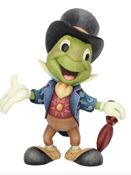 Jim Shore Disney Traditions Jiminy Cricket Statement Big Statue 37 CM