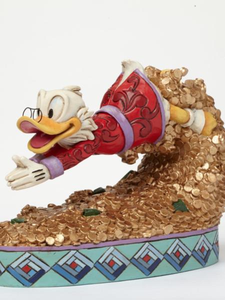 Jim Shore Disney Traditions Scrooge Treasure Dive