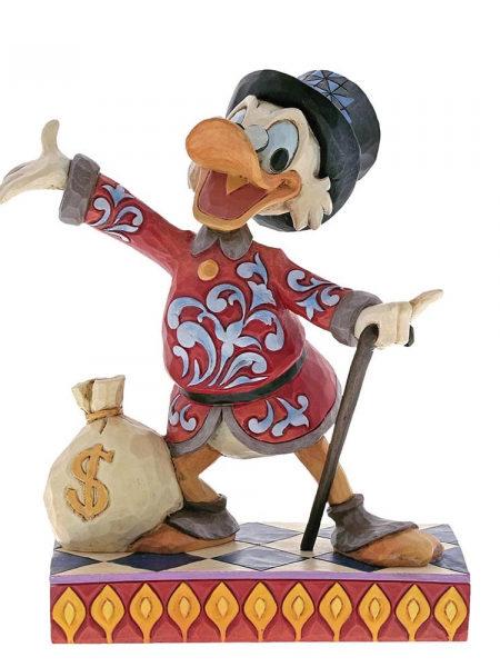 Jim Shore Disney Traditions Scrooge Treasure Seeking Tycoon