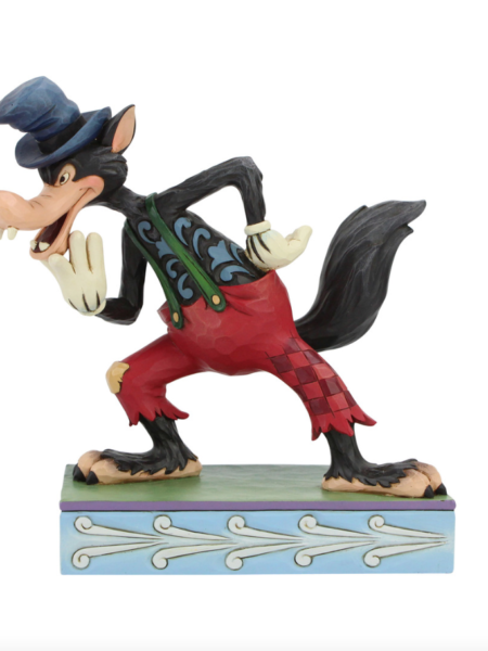 Jim Shore Disney Traditions Silly Symphony Big Bad Wolf