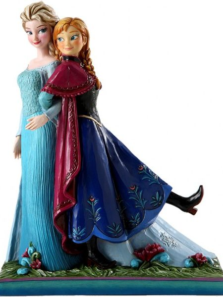 Jim Shore Disney Traditions Frozen Elsa & Anna Sisters Forever