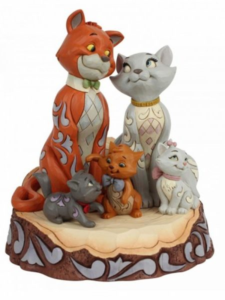 Jim Shore Disney Traditions The Aristocats Carved By Hearts