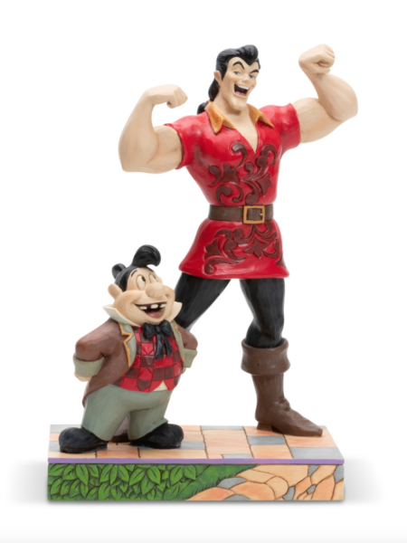 Jim Shore Disney Traditions The Beauty And The Beast Gaston & Lefou