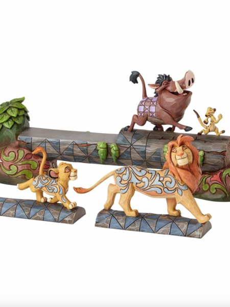 Jim Shore Disney Traditions The Lion King Simba Pumbaa & Timon Hakuna Matata