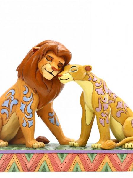 Jim Shore Disney Traditions The Lion King Simba & Nala
