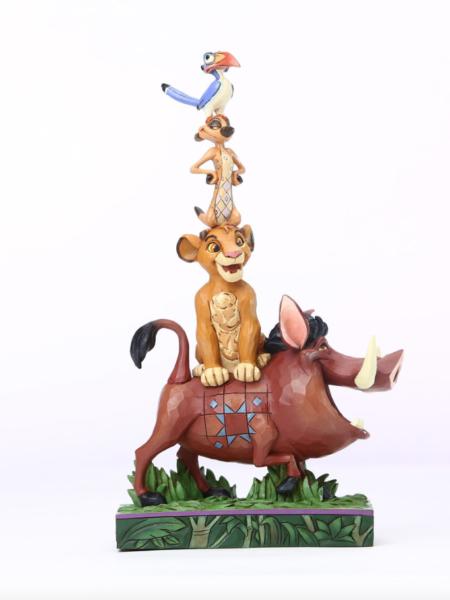 Jim Shore Disney Traditions The Lion King Balance Of Nature Simba Timon Pumba & Zazu