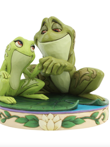 jim Shore Disney Traditions The Princess And The Frog Tiana And Naveen as Frog