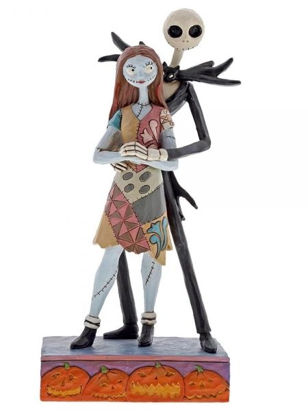 Jim Shore Disney Traditions Nightmare Before Christmas Jack & Sally