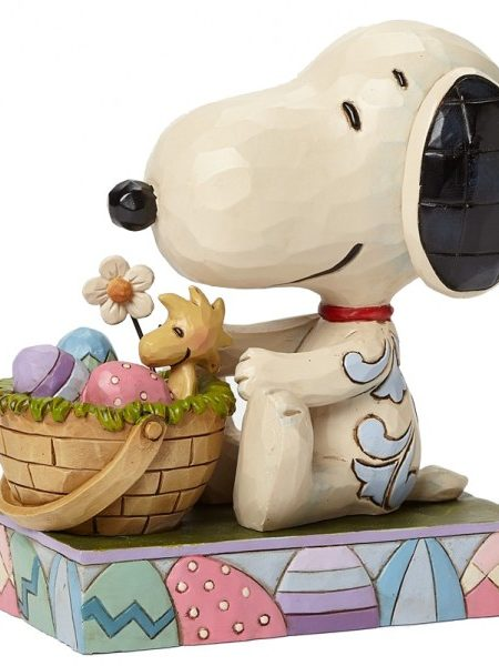 Jim Shore Peanuts Snoopy Easter Hug