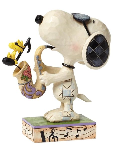 Jim Shore Peanuts Snoopy The Blues Beagle