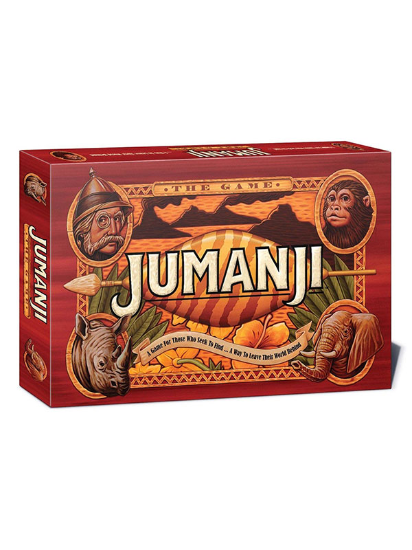 Jumanjii Official Board Game English Version